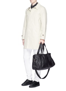 Meilleur Ami Paris 'Bel Ami' saffiano leather duffle bag