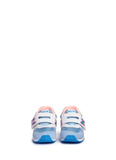 New Balance '996' mesh and leather toddler sneakers