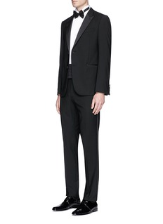 Tomorrowland Pleated bib tuxedo shirt