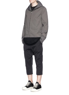 DRKSHDW by Rick OwensCurved seam sheer T-shirt
