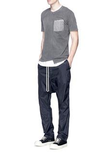 DRKSHDW BY RICK OWENS长抽绳低裆休闲裤