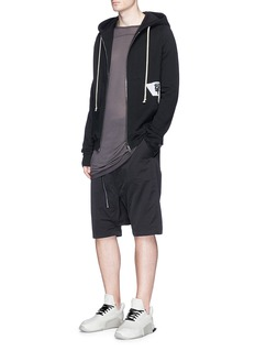 DRKSHDW BY RICK OWENSAircut Pods拉链低裆宽松短裤