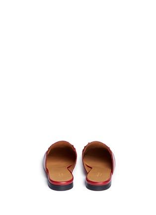 Gucci-Horsebit vamp leather slide loafers