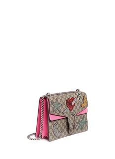 Gucci Dionysus' medium embellished canvas shoulder bag