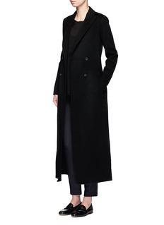 The Row'Heiden' felted virgin wool long coat