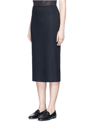 Front View - Click To Enlarge - The Row - 'Hilda' virgin wool blend pencil skirt