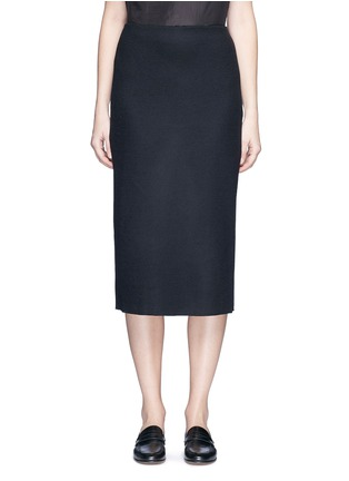 Main View - Click To Enlarge - The Row - 'Hilda' virgin wool blend pencil skirt