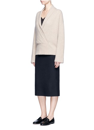 Figure View - Click To Enlarge - The Row - 'Hilda' virgin wool blend pencil skirt