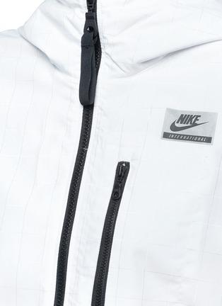 Nike-'Nike International Windrunner' foldable aerial print jacket