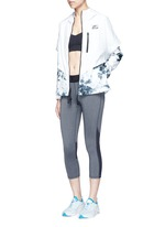 'Nike International Windrunner' foldable aerial print jacket