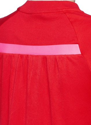 Detail View - Click To Enlarge - Nike - 'Sportswear Bonded' combo T-shirt