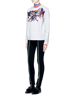 Emilio Pucci Colourblock rib knit turtleneck sweater