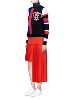 Emilio PucciMonogram stripe Merino wool sweater