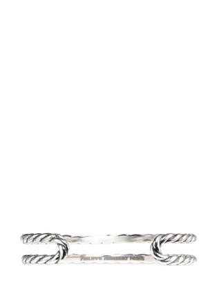 Figure View - Click To Enlarge - Philippe Audibert - 'Abott' scored cutout cuff