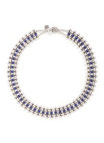 'Han' lapis stone bead necklace