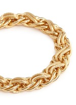 Contrast chain bracelet