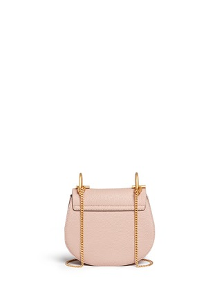 Chloé - 'Drew' mini grainy leather shoulder bag