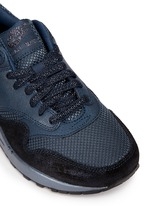 'Air Max 1 Premium' waxed leather textile sneakers