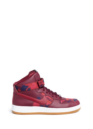 Main View - Click To Enlarge - Nike - 'AF-1 Ultra Force' mid top leather sneakers