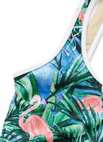 'The Paradiso' open back one-piece swimsuit