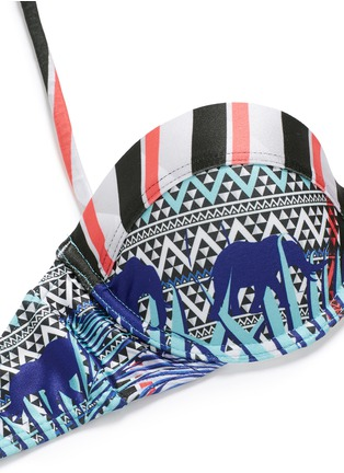 Detail View - Click To Enlarge - We Are Handsome - 'The Empire' cupped bikini set