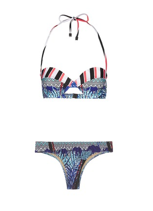 Main View - Click To Enlarge - We Are Handsome - 'The Empire' cupped bikini set