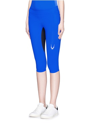 Front View - Click To Enlarge - Lucas Hugh - 'Core Performance' sports capri pants