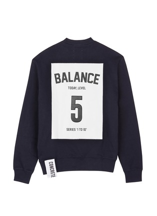 Main View - Click To Enlarge - Studio Concrete - 'Series 1 to 10' unisex sweatshirt - 5 Balance