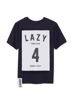 'Series 1 to 10' unisex T-shirt - 4 Lazy