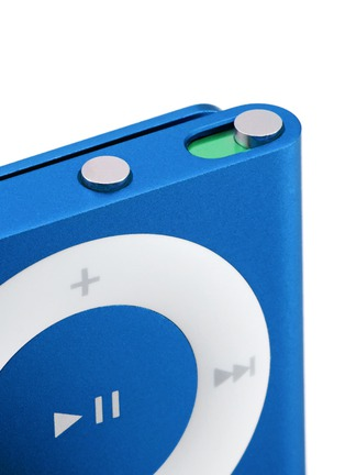Detail View - Click To Enlarge - Apple - iPod shuffle - Blue