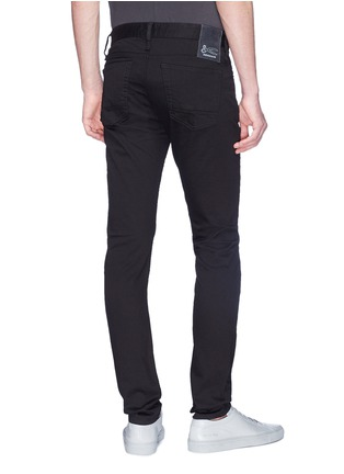 Back View - Click To Enlarge - Denham - 'Bolt' fade proof skinny jeans