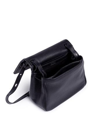 Detail View - Click To Enlarge - Kara - Mini pebbled leather messenger bag