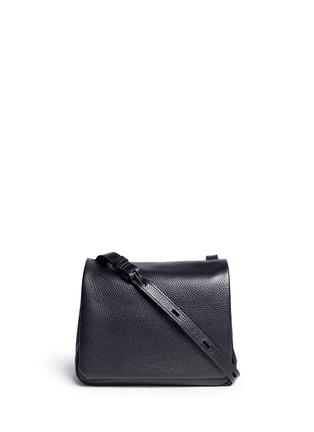 Main View - Click To Enlarge - Kara - Mini pebbled leather messenger bag