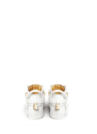 背面 - 点击放大 - BUSCEMI - 100MM锁扣真皮高筒球鞋
