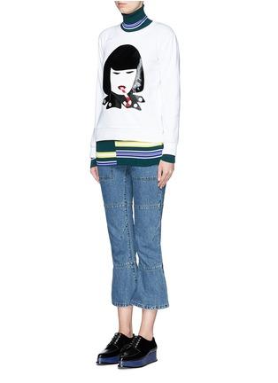 NIL & MON-Rei Kawakubo appliqué sweatshirt