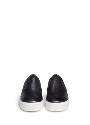 Figure View - Click To Enlarge - Ash - 'Jungle Shiny' waxed leather skate slip-ons