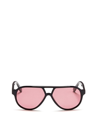 Main View - Click To Enlarge - Sons+Daughters Eyewear - 'Rocky' kids acetate aviator sunglasses