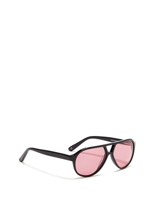 Figure View - Click To Enlarge - Sons+Daughters Eyewear - 'Rocky' kids acetate aviator sunglasses