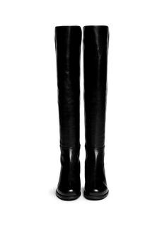 STUART WEITZMAN'5050' elastic back leather boots