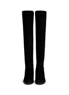 Stuart Weitzman '5050' elastic back suede boots