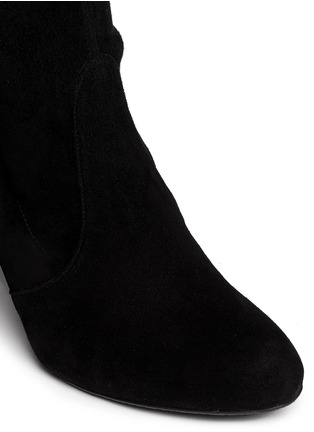 Detail View - Click To Enlarge - Stuart Weitzman - 'Highland' suede thigh high boots