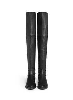 STUART WEITZMAN 'Lowland' stretch leather thigh high boots