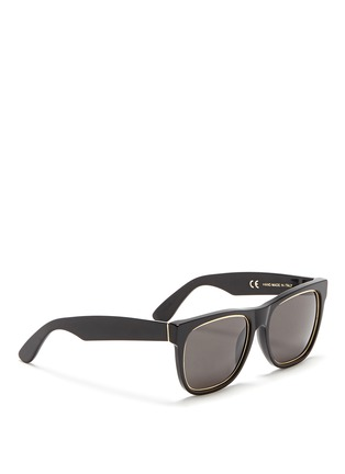 SUPER - 'Classic Impero' metal inner rim acetate sunglasses