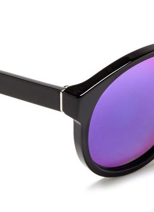 SUPER-PALOMA中性款板材圆框太阳眼镜