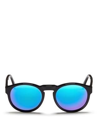 首图 - 点击放大 - SUPER - PALOMA中性款板材圆框太阳眼镜