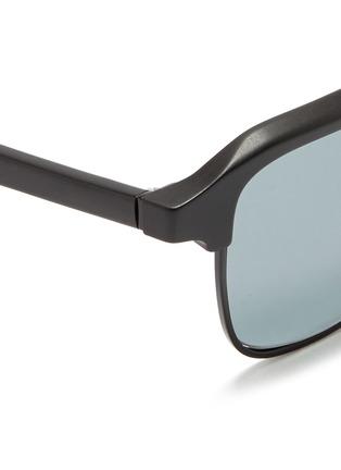 细节 - 点击放大 - SUPER - GONZO中性款哑光方框太阳眼镜