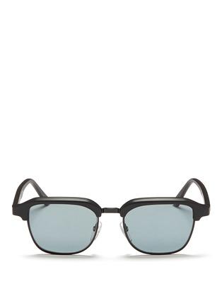 首图 - 点击放大 - SUPER - GONZO中性款哑光方框太阳眼镜