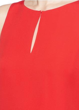 Detail View - Click To Enlarge - DIANE VON FURSTENBERG - 'Raica' silk sleeveless blouse