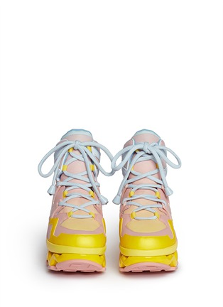 Figure View - Click To Enlarge - Marc by Marc Jacobs - 'Ninja' zigzag rubber platform sneakers