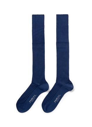首图 - 点击放大 - FALKE - No.13单色压纹及膝袜